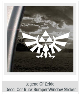 Legend Of Zelda Decal Car Truck Bumper Window Sticker