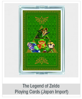 The Legend of Zelda Playing Cards (Japan Import)
